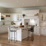 White Cabinets Wall Paint Color