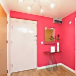 White Rose Interior Wall Paint Color Scheme