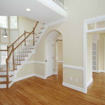 White Wall Paint Ideas Hardwood Floor