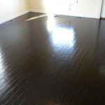 Wood Floor Painted Darker Color