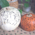 Year Really Loving The Idea Painted Pumpkins