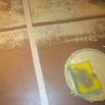 Your Tile Color And Use Sponge The Each