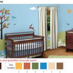 Acrylic Stencil Paints For Painting Forest Room