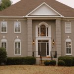 After Painted Brick Exterior