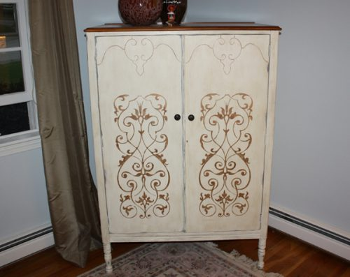 Aftertelevisioncabblog Painted Armoire