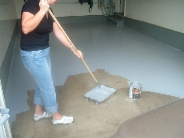 All Possible Ideas Remodeling Garage Floor Painted