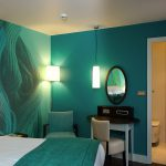 Amazing Relaxing Dragonfly Green Wall Paint For Bedroom