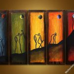 Art Sets Wall Decor Modern Canvas Oil Painting For Sale