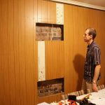 Astounding Images Above Section Wood Paneling Makeover Ideas