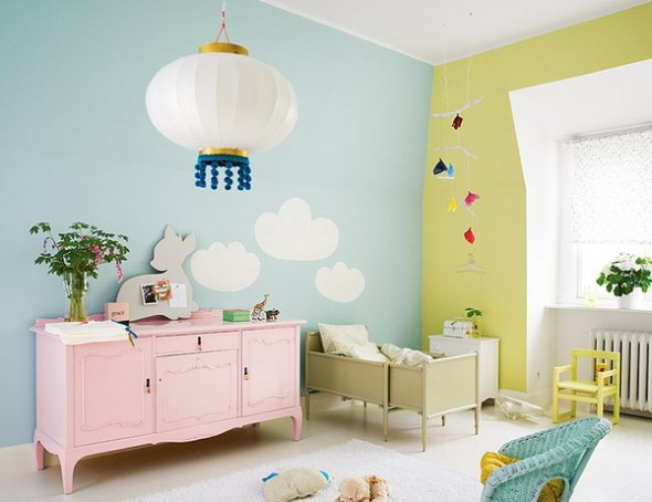 Baby Room Soft Wall Paint Colors