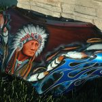 Bad Ass Paint Custom Native American Indian Designs