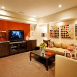 Basement Created Sun Design Current Trend Interior Paint