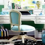 Beautiful Home Style Tiffany Blue Wall Paint White Table