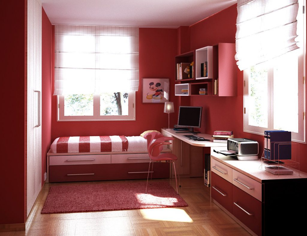 Bedroom Best And Cool Coloring Paint Ideas For Bedrooms Red