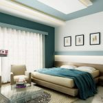 Bedroom Design Teal And Tan