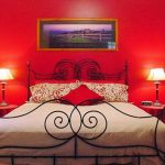 Bedroom Red Wall Paint