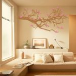 Bedroom Stunning Wall Painting And Mount Design Ideas