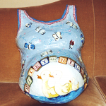 Belly Cast Paintings Cost Plus Shipping