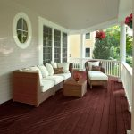 Benjamin Moore Hodley Red Paint Color This Porch Floor