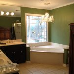 Best Green Wall Paint Colors For Bathrooms