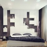 Black And White Bedroom Paint Ideas For Couples Bed