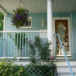 Blue And White Painting Ideas Porch Decorating Flowers Simple