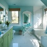 Blue Interior Bathroom Paint Colors Colours For Old House