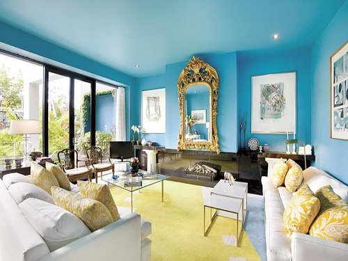 Blue Living Room Paint And Color Ideas
