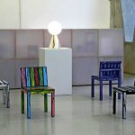 Chairs Colorful Painting Ideas Furniture Decoration Logo