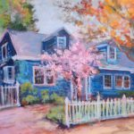 Click Enlarge This Colorful Impressionist Painting Canvas
