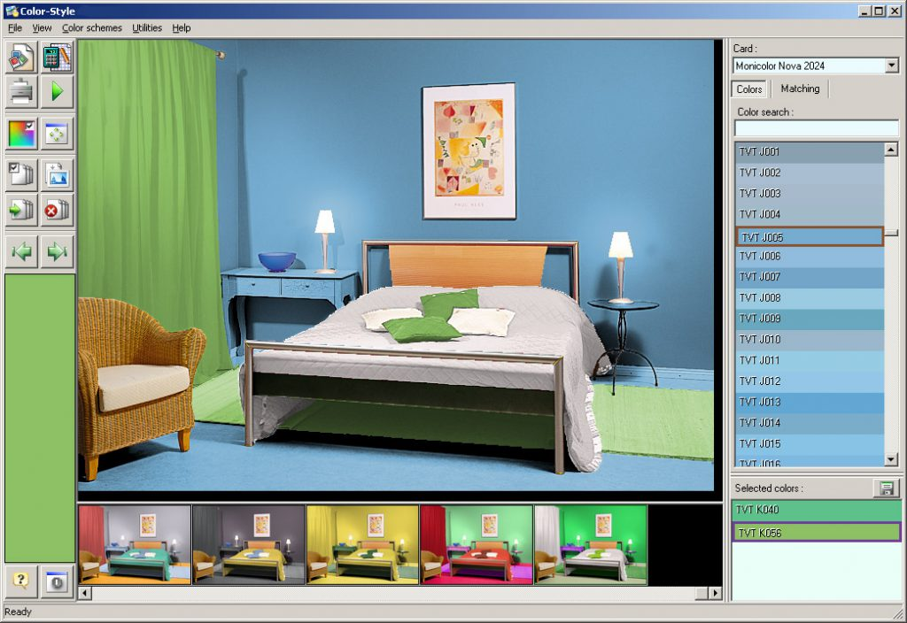 Color Style Studio Turns The Complicated Process Selection