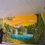 Com Kitchen Wall Mural Ideas Painting