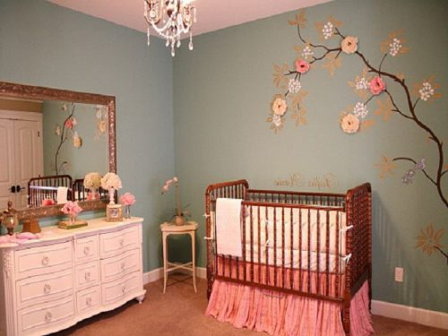Comments Baby Girl Nursery Painting Ideas