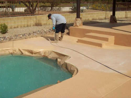 Concrete Paint For Pool Deck