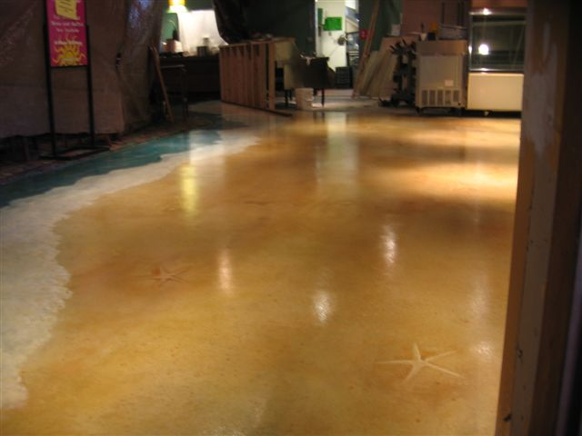 Concrete Stain For Exterior And Interior Floors