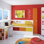 Creative Colorful Small Bedroom Paint Ideas