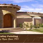 Custom Residential Exterior Painting Project Vegas Valley