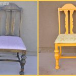 Day Features Chair Painted Krylon Bauhaus Gold Yellow