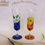 Day One Wine Glass Painting
