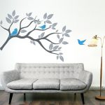 Decals Designs Natural Features Inspirations Green Wall Painting