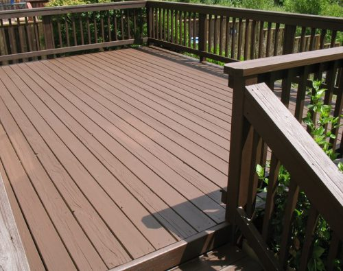Deck Painting Yourself
