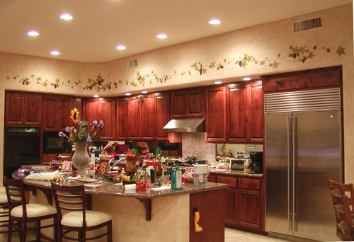 Decorative Painting Ideas Kitchen Walls