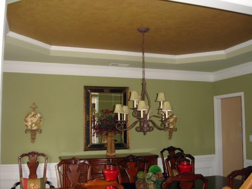Dining Room Paint Trey Different Colors