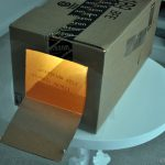 Diy Overhead Projector How Paint Image The Wall