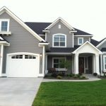 Dovetail Gray White Dove Exterior Paint Colors