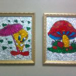 Dreams And Creations The Joy Glass Painting
