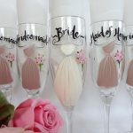 Each Glass Can Personalized Your Attendant Name