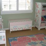 End Table Painted Match Pillows Furniture Compliment