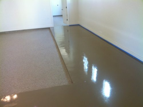 Epoxyfloorpaint Quikrete Epoxy Garage Floor Coating Lowes