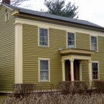 Exterior House Colors Green For Paint Rustic